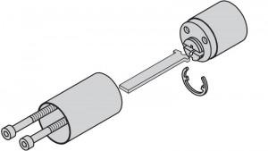Kit d'allongement pour cylindres extérieurs.