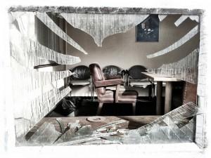 La troisième méthode la plus utilisée par les cambrioleurs pour entrer dans les maisons est de briser une fenêtre (photo de Keith Bloomfield).