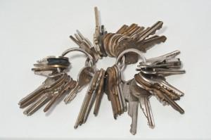 Si l'habitation a plusieurs accès, le nombre de clés augmente rapidement (photo de Pennuja)