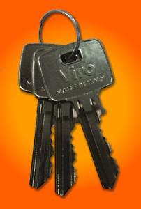 Les clés ont une grande poignée pour être facilement manœuvrables même avec des gants de travail.