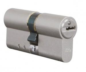 Le cylindre de haute sécurité Viro Palladium est un exemple de cylindre débrayable.