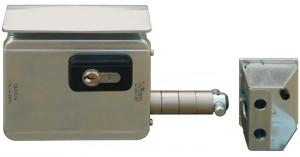La serrure Viro V09 est la première serrure électrique qui a été spécifiquement conçue pour les portails coulissants.