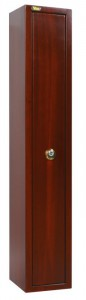 La peinture spéciale « effet bois », disponible sur demande sur les armoires de sécurité Viro