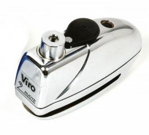 L'antivol Viro MAS est conçu pour s'intégrer parfaitement avec le bloque-disque avec alarme Viro Sonar.