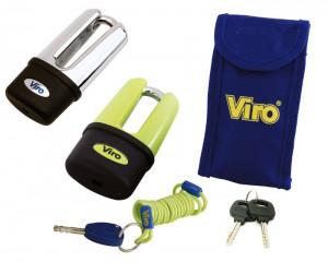 Le Viro Blindato Extreme peut être utilisé soit comme bloque-couronne soit comme bloque-disque.