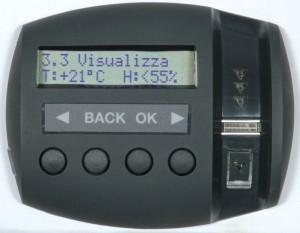 La surveillance du climat intérieur est une des fonctions avancées du Viro Ram-Touch.