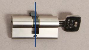 Un cylindre est idéalement composé de 2 parties. Les mesures qui comptent pour un bon montage sont la longueur de ces 2 côtés.