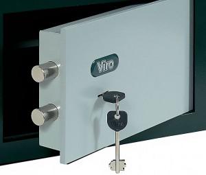 Coffre-fort avec serrure à clé Viro.