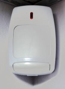 Exemple de capteur à technologie infrarouge.